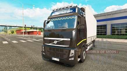 Volvo FH13 Tandem v2.1 для Euro Truck Simulator 2