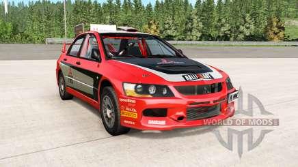 Mitsubishi Lancer Evolution IX 2006 remaster для BeamNG Drive