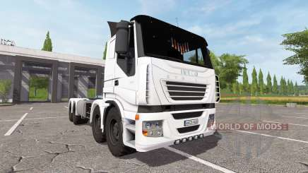 Iveco Stralis 8x8 cointainer для Farming Simulator 2017