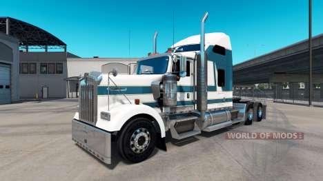Скин Carlyle на тягач Kenworth W900 для American Truck Simulator