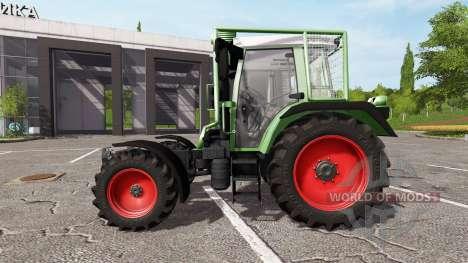 Fendt 380 GTA Turbo v4.5 для Farming Simulator 2017