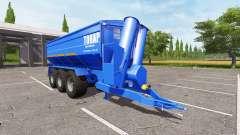 BERGMANN GTW 430 тонар для Farming Simulator 2017