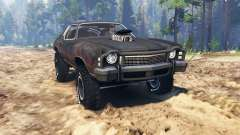 Chevrolet Monte Carlo 1973 Mad Max для Spin Tires