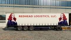 Скины Redhead Logistics на полуприцеп