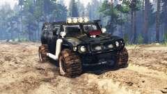ГАЗ-2330 Тигр v0.3 для Spin Tires