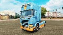 Скин DS3 на тягач Scania