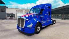 Скин Jnr-Snr Aussie на тягач Kenworth T680 для American Truck Simulator