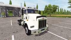 Kenworth T800 dual axle
