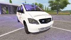 Mercedes-Benz Viano First Responder для Farming Simulator 2017