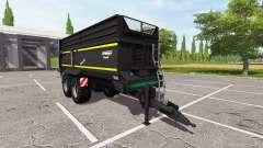 Krampe Bandit 750 для Farming Simulator 2017
