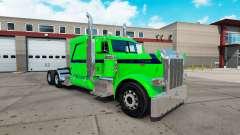 Скин Emerald Dream на тягач Peterbilt 389 для American Truck Simulator