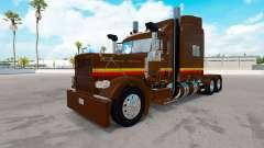 Скин IZZI на тягач Peterbilt 389 для American Truck Simulator