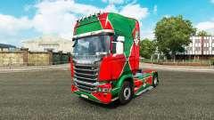 Скин Локомотив v2.0 на тягач Scania