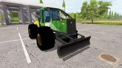 John Deere 548H для Farming Simulator 2017
