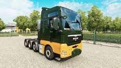 MAN TGX 8x4 v1.8 для Euro Truck Simulator 2