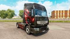 Скин Republic of Gamers на тягач Renault для Euro Truck Simulator 2