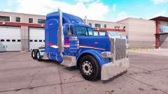 Скин B-T Inc. на тягач Peterbilt 389 для American Truck Simulator