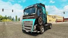 Скин Hi-Tech на тягач Volvo для Euro Truck Simulator 2