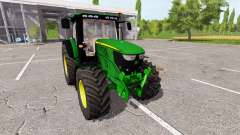 John Deere 6210R v0.9 для Farming Simulator 2017