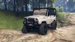 УАЗ-31514 v1.3 для Spin Tires