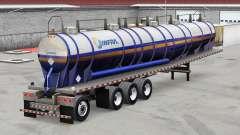 Скин Infra на полуприцеп для American Truck Simulator
