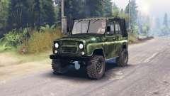 УАЗ-469 HD для Spin Tires