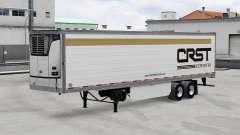 Реальные логотипы компаний на полуприцепы v2.0.1 для American Truck Simulator