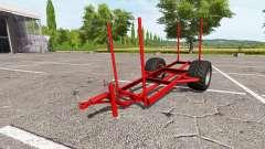 Прицеп для древесины для Farming Simulator 2017