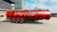 Скин Coca-Cola на полуприцеп