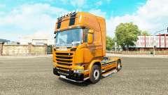 Скин Camaro на тягач Scania