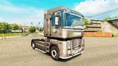 Скин Optifuel Training на тягач Renault Magnum для Euro Truck Simulator 2