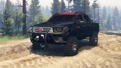 Toyota Hilux Double Cab 2016 v2.0 для Spin Tires