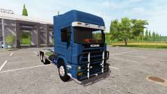 Scania 124L 420 6x4 HookLift для Farming Simulator 2017