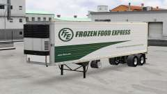 Скин Frozen Wood Express на полуприцеп