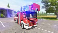 Scania P420 feuerwehr для Farming Simulator 2017