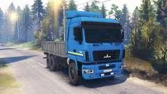 МАЗ-6312 v2.0 для Spin Tires
