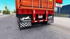 Обновлённые брызговики у полуприцепов для American Truck Simulator