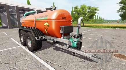 Zunhammer SKE 18.5 PUD brown edition для Farming Simulator 2017