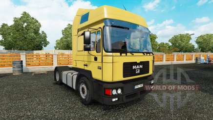 MAN F2000 v1.2 для Euro Truck Simulator 2