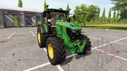 John Deere 6250R v2.0 для Farming Simulator 2017