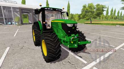 John Deere 6210R v1.1 для Farming Simulator 2017