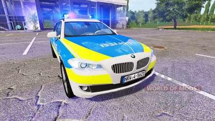 BMW 520d Touring (F11) Police для Farming Simulator 2017