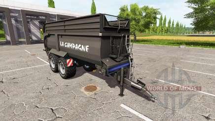 Krampe Bandit 750 black для Farming Simulator 2017