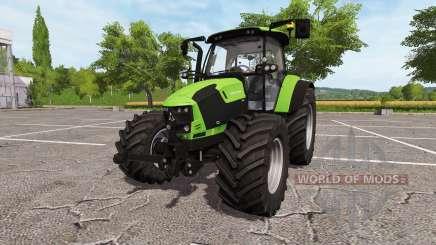 Deutz-Fahr 5110 TTV v2.0 для Farming Simulator 2017