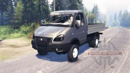 ГАЗ-33027 ГАЗель-Бизнес для Spin Tires