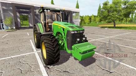 John Deere 8230 для Farming Simulator 2017