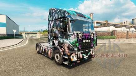 Скин DC Villains на тягач Iveco для Euro Truck Simulator 2