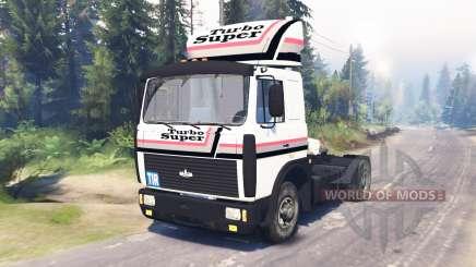 МАЗ-54324 v2.0 для Spin Tires