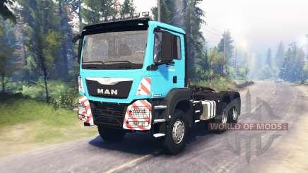 MAN TGS 26.480 для Spin Tires