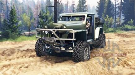 Willys Pickup Crawler 1960 v1.3.2 для Spin Tires
